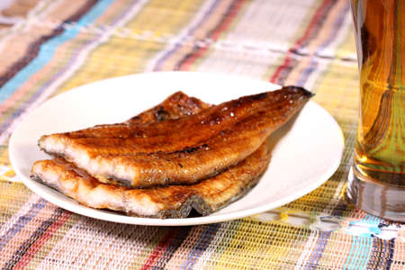 Kabayaki, japanese food, grilled eel with soy sauce