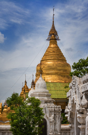 exclusively: Burma Pagoda Myanmar.It is a building primarily, but not Exclusively, intended for religious purposes, Thailand Also the name is Also used to refer to other places of worship. Stock Photo