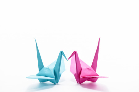 Origami Cranes Stock Photo Picture And Royalty Free Image Image