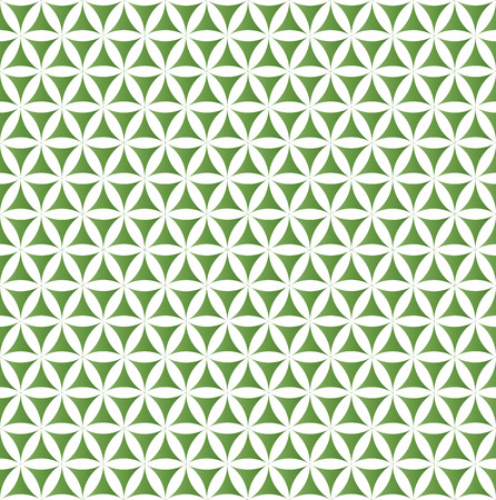 grüne Blume des Lebens heiligen geometrischen nahtlose Hintergrund