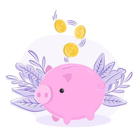 piggy bank pig, finance, business, money taxes, savings