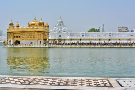The beautiful Golden Temple Stock Photo