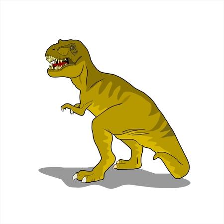 carnivore: T-rex vector illustration