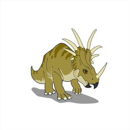 triceratops: triceratops vector illustration