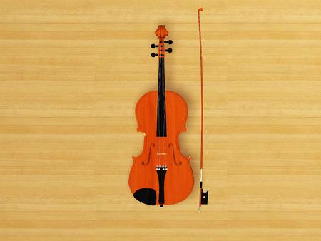 centered: violin viola centered object