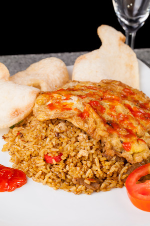 goreng: Spicy Fried Rice Nasi Goreng Indonesia