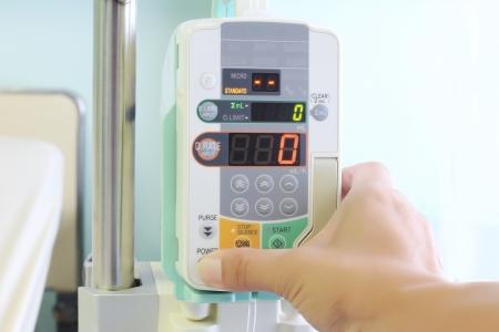 IV machine