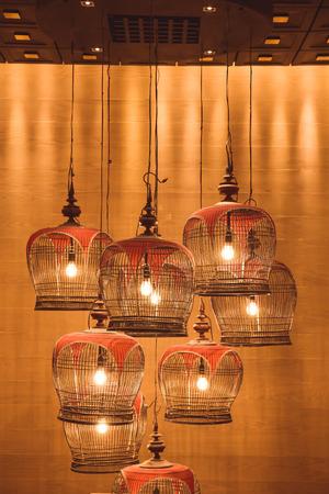 old retro lamp
