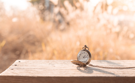 ancient pass: old pocket watch, vintage