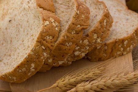 Whole wheat bread Stok Fotoğraf
