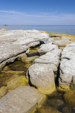 Stony seashore Stock Photo - 15212644
