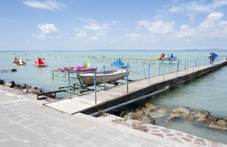 Lake Balaton in Hungary Stock Photo - 15212592