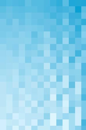 Background of light and darker blue squares