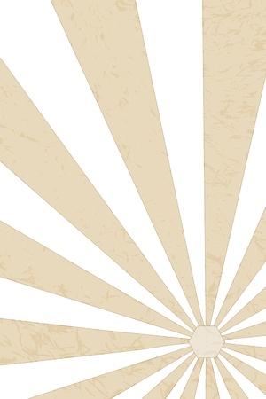 brownish: Illustration of a brownish or beige retro style sunbeam background  Stock Photo