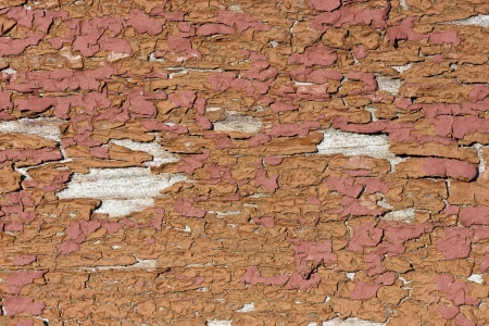 skinning: Reddish and brownish skinning or peeling paint background Stock Photo