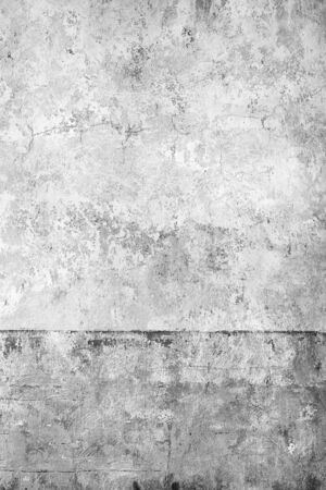 Architectural background of an old wall with scratched or fallen off paint Banco de Imagens