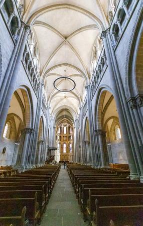 John Calvins Church in the old town of Geneva, Switzerland Sajtókép