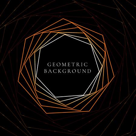 geometric poly shape background Illustration