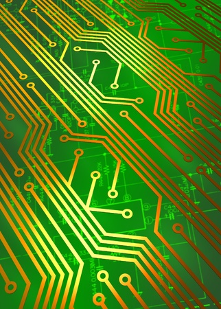 Circuit board technology concept