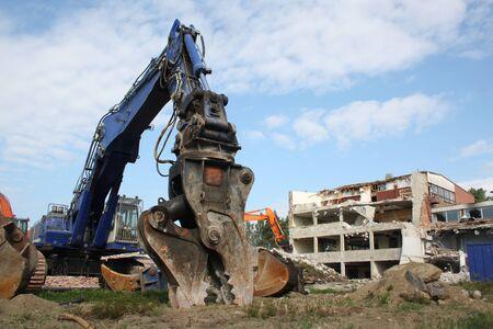 demolition: Construction demolition  Editorial