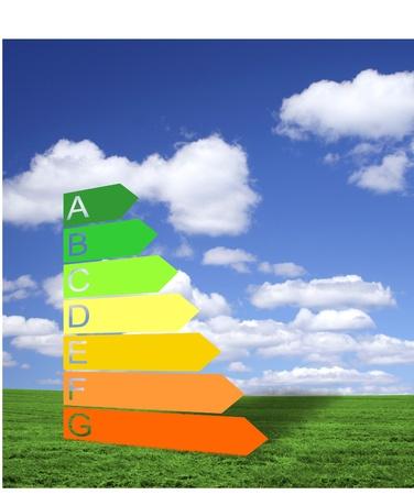 Energy efficiency class Stock Photo - 11528045