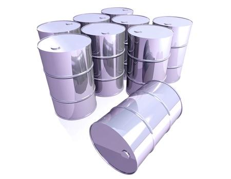 gallon: Chromed barrels
