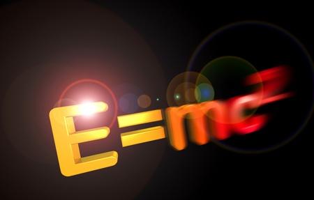 E=mc2 theory of relativity