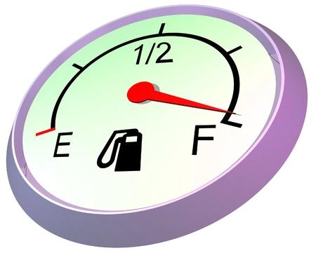 Fuel gauge - full  photo