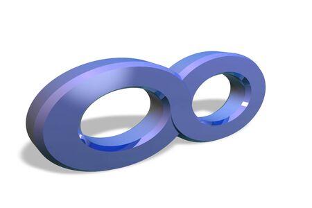 Infinity symbol Stock Photo - 11696944