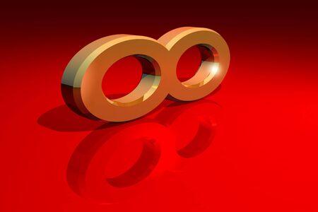 Infinity symbol Stock Photo - 11696952