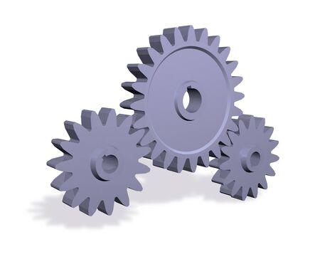 gearwheels: Gearwheels  Stock Photo