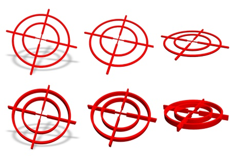 Crosshair symbol collection