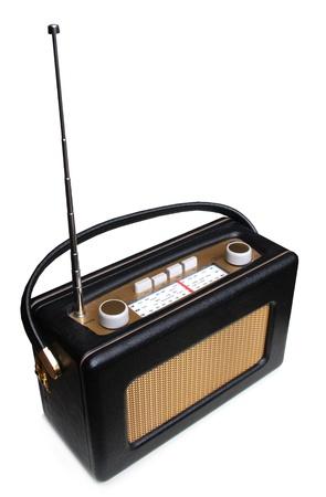Portable retro radio