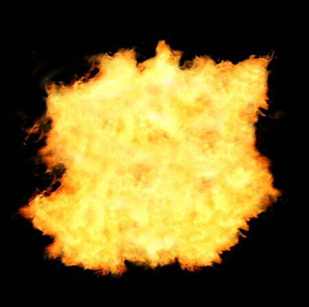 Fire flames background photo