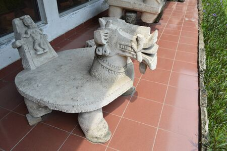megaliths: Batak tribe stone table