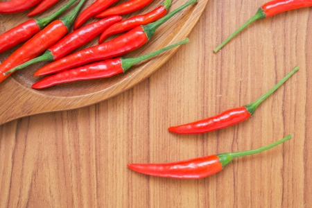 paprica: Red chili peppers