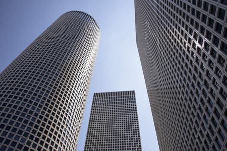 azrieli tower: Modern office building, Tel-Aviv, Azrieli center Editorial
