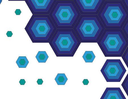 blue polygon shape background image  in hd Banco de Imagens