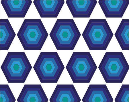 blue color polygon pattern in white background hd Banco de Imagens