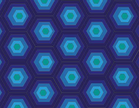 blue polygon pattern in hd
