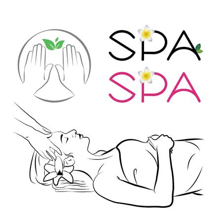 facial massage: massage SPA