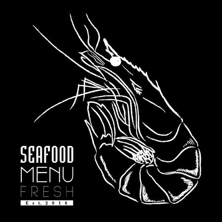 prawn: seafood menu