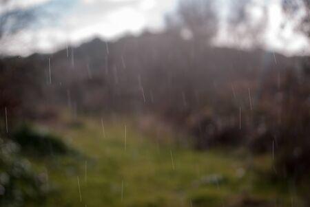 textura: La pioggia nel paese