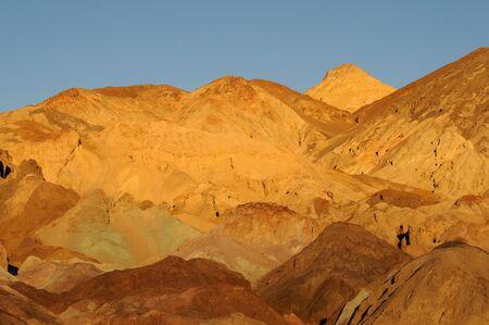 pallette: Artiste color� de Pallette au cr�puscule dans la Death Valley