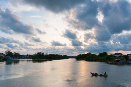 rayong: City the river, Rayong, Thailand