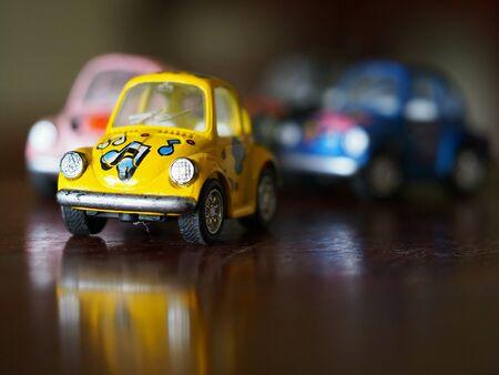 Toy car for children Фото со стока