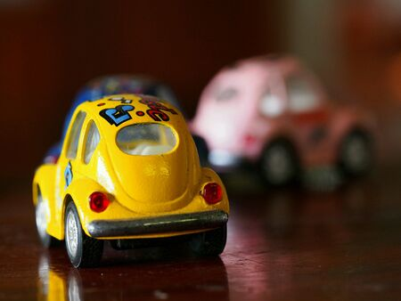 Toy car for children Stock Photo