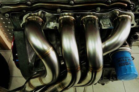 modyfikować: Zmodyfikować silnik do samochodu Zdjęcie Seryjne