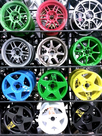 chrome: Colours of max wheels