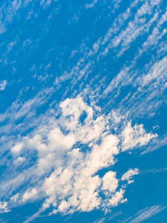 nimbi: Pattern white cloud and clear blue sky
